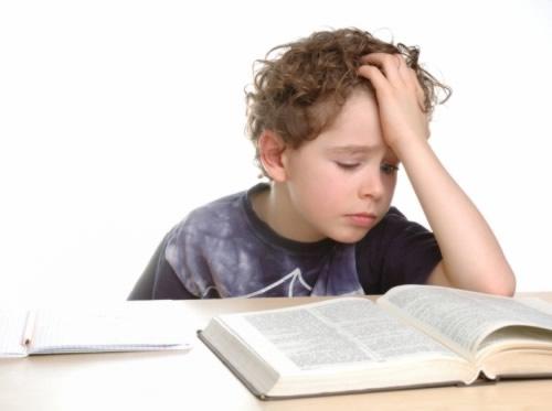 Trastorno en el aprendizaje lectoescritural.